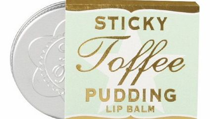 Sticky Toffee Lip BalmSticky Toffee Pudding, what a delicious dessert. Now you can carry that amazing toffee smell around with you in your pocket! Our Sticky Toffee Lip Balm smells just as good as the real thing and it makes your lips super smooth!Ma