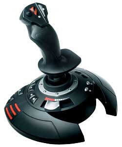 Flight stick for use with serious flight simulations and action-led games.Comes with stickers to ada
