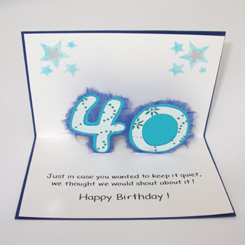 Celebrate any special occasion with a stunning personalised birthday card. Make this one serious eve