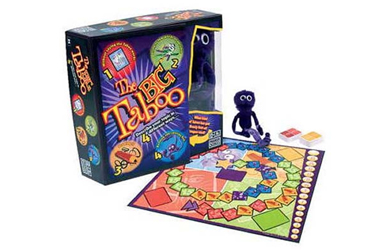 Puts your powers of communication to test as you play The Big Taboo, with 4 different game