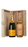 Pure Christmas spirit - Veuve Clicquot is paired with Glenmorangie 10yo.