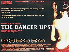 The Dancer Upstairs UK Quad Poster