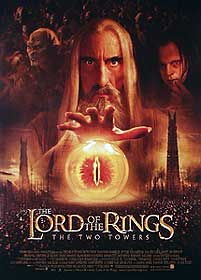 The Lord Of The Rings: The Two Towers poster