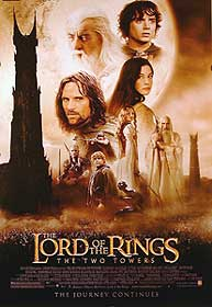 The Lord Of The Rings: The Two Towers US poster