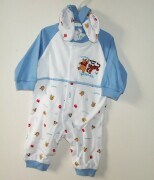 "Romper with Winnie & Tigger ""Think Before You Boun"