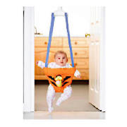 This Tigger Door Bouncer bounces to help your baby stay active. The Tigger-themed doorway jumping se