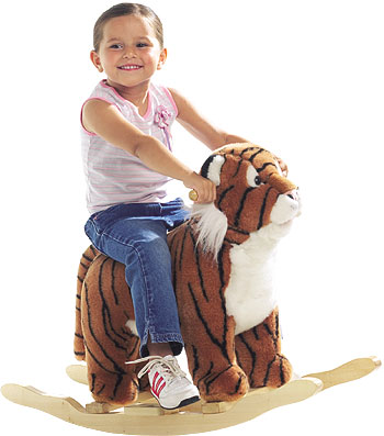 Rocking horses have long been the rage for delecta