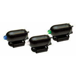 Set of three rod tip bite indicators. Used instead of snap lights and can be easily fitted onto the