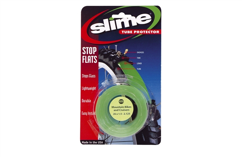 Slime tube protectors sit between your tyre and your inner tube offering an extra level of puncture
