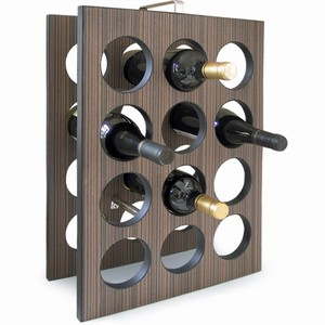 As the name suggests, the Twelve Bottle Wine Rack neatly holds 12 of your favourite bottles of red o