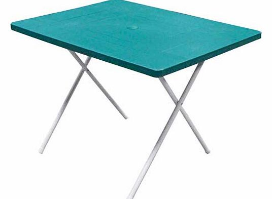 Whether you are having a garden picnic. youre camping or you need another table for when the family come round. this folding table would be ideal. The plastic top is easy to wipe clean and the twin height setting is perfect for kids or adults. Simply