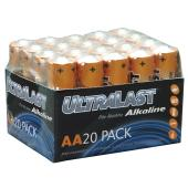 These longer lasting AA Alkaline batteries are designed to out perform other brands as they have bee