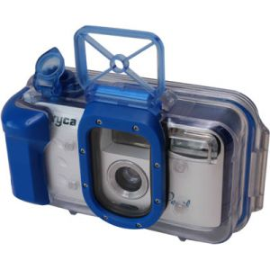 Record your underwater exploits for posterity with this ergonomic underwater camera.    Water