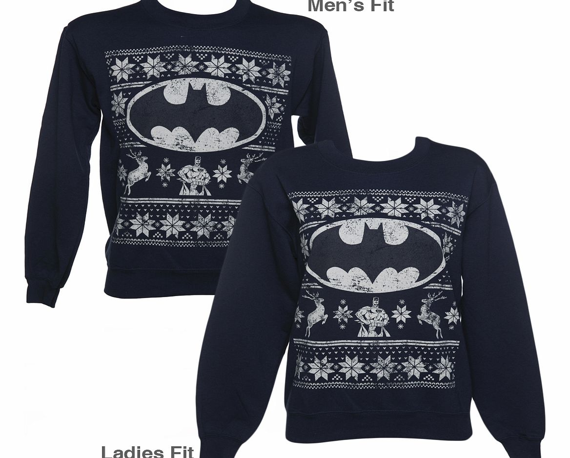Youll be needing something to protect you from the cold weather as the festivities take place! We have just the thing, and it comes with added Super Hero appreciation! Pay homage to Batman this winter, in this awesome Christmas sweater!