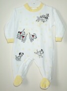 Lovely sleepsuit with little dalmations puppies ru