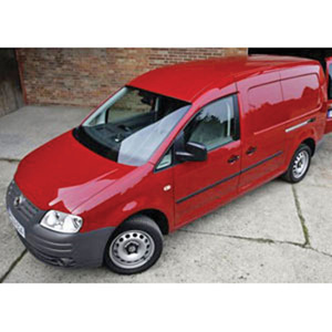 Unbranded Volkswagen Caddy Maxi Shuttle 2007 Red