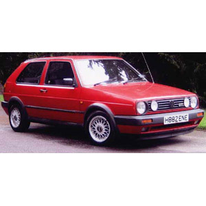 Unbranded Volkswagen Golf 1985 Red