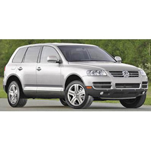 Unbranded Volkswagen Touareg 2007 Silver