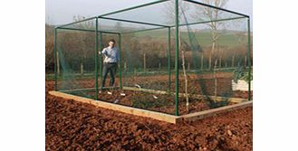 These sturdy and robust 2m (66) high walk-in crop cages offer ideal protection for large fruit and vegetable gardens. Made from high grade square aluminium tubing  with push-fit steel reinforced joints  they can be easily extended in 2-metre modules