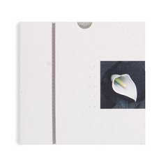 Unbranded White Lily - Square Invitation