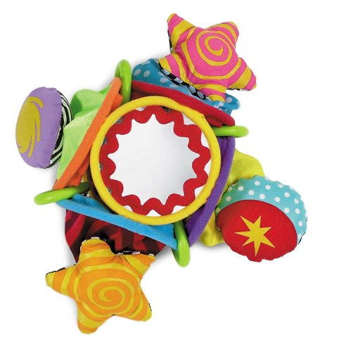 Whoozit Tuck & Pull Rattle, Manhattan Toy toy / game