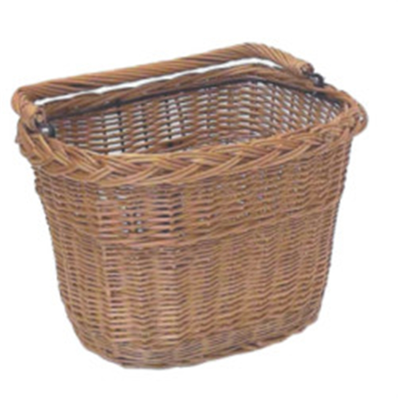 Constructed from high quality willow, Finished with a natural colour varnish, Basket is easily