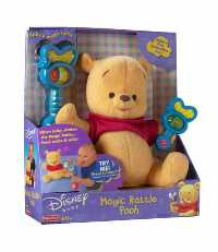 Winnie the Pooh - Winnie The Pooh Character Baby Magic Rattle - Pooh