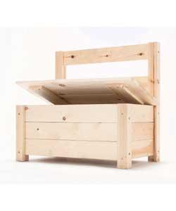 Free Design Woodworking: Guide Wood storage bench plans u-bild