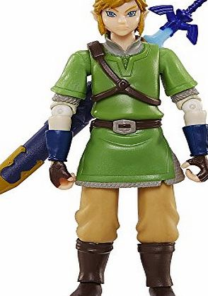 Bring peace back to the kingdom of Hyrule with your World of Nintendo Link Figure. The star of the Legend of Zelda, Link is a Nintendo and video game icon. This 10cm figure looks just like heandrsquo;s stepped off your TV screen thanks to his detaile