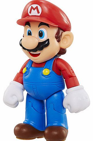 Add something super to your Nintendo collection with a 10cm Mario figure. Mario is the most famous and well-loved video game character in the world. Not bad for an out of shape plumber from Brooklyn! This World of Nintendo figure is poseable and come