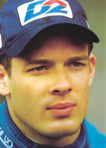 Alex Wurz in his Benetton Team Gear 2000