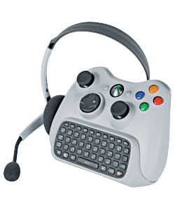 Lets Xbox 360 users instant message with friends on Windows Live Messenger.With a full feature QWERT