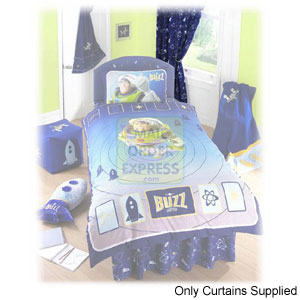 Part of a co-ordinating range of Buzz Lightyear Rocket Mission soft furnishings Perfect for any