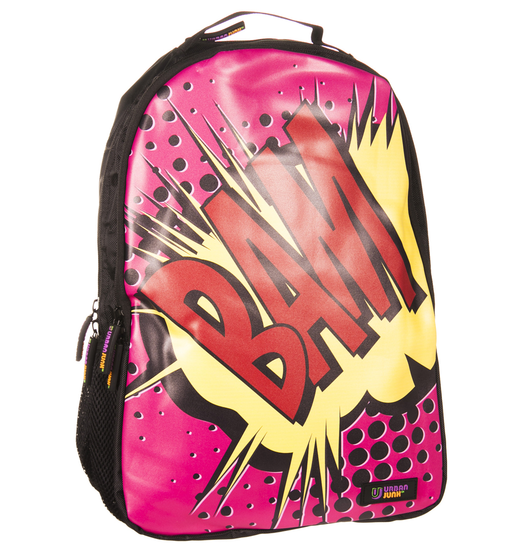 Retro Comic Pop BAM Explosion Backpack from
