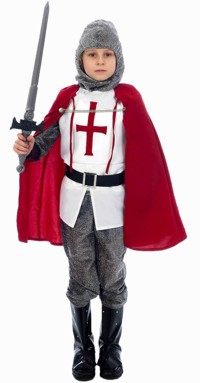 Costume: Royal Knight (Small 3-5 Yrs)