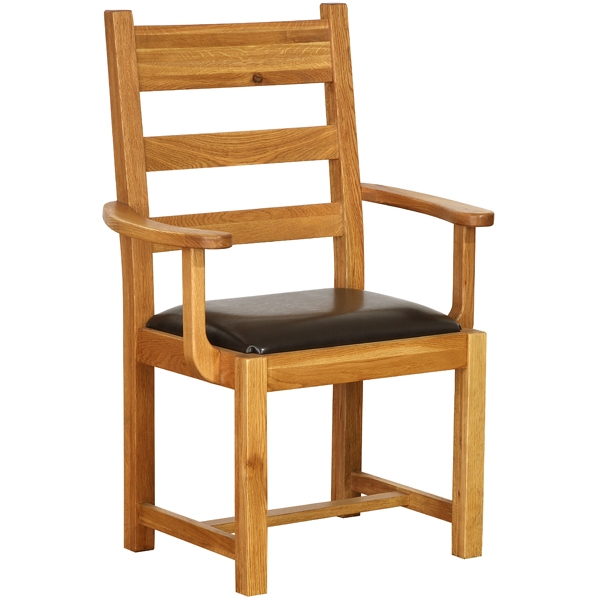 carver chair : vancouver oak petite carver chairs with from www.comparestoreprices.co.uk size 600 x 600 jpeg 120kB