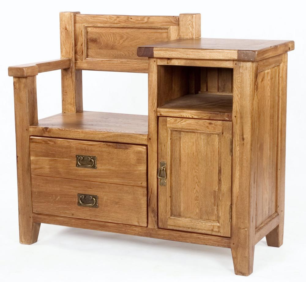 Vancouver Telephone Bench 1 Door 1 Drawer Review Compare Prices Buy Online