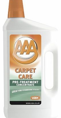 AAA Pre-Treatment Concentrate Carpet Cleaner 1L