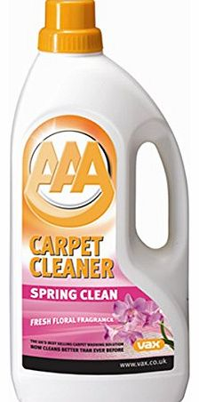 AAA Spring Clean Carpet Cleaning Solution 1.5 L