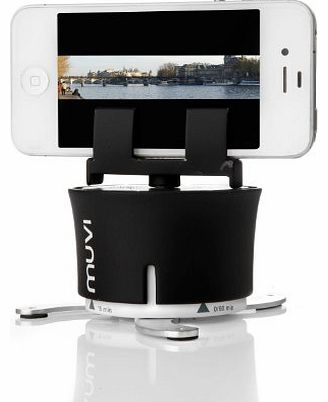 VCC-100-XL MUVI X-Lapse 360 Degree Photography and Timelapse Accessory for iPhone/Action Cameras/Time Lapse Cameras - Black