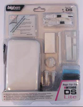DS Lite Safety Accessory Pack - White