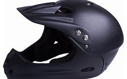 Downhill Helmet - Black, Medium