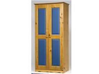 Verona 2 Door Wardrobe Blue