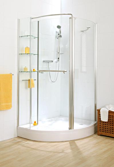 Shower Enclosures Verona Corner Storage Shower With