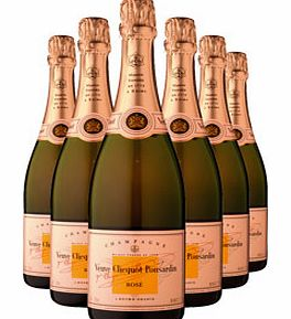 Rosé Six Bottle Champagne Gift 6