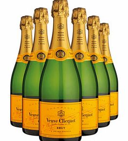Six Bottle Champagne Gift 6 x