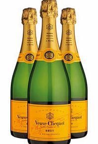 Three Bottle Champagne Gift 3 x
