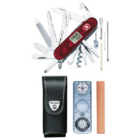 Traveller Red Swiss Army Knife Expedition Set 41 Functions 18741AVT