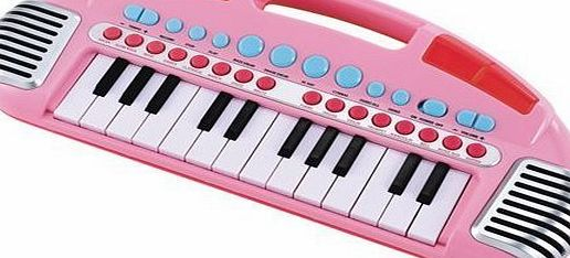 Vinsani ELC PINK CARRY ALONG KEYBOARD CHILDRENS KIDS MUSICAL TOY - NEW