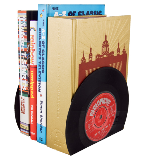 Style Vinyl Book Ends